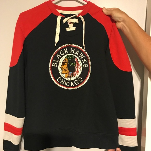 huge selection of cc7ee 9e73e Chicago Blackhawks Jersey-hoodie